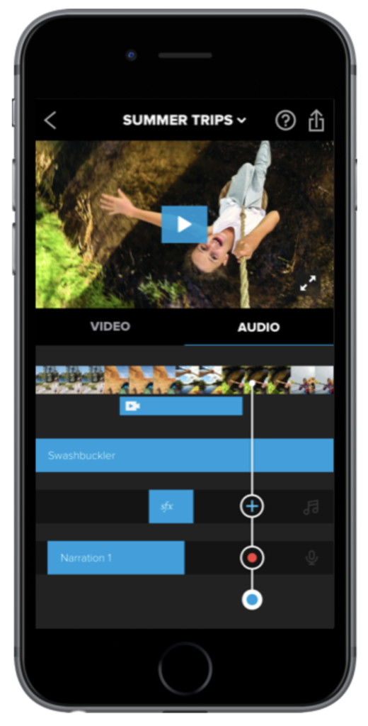 application montage video iphone gratuite